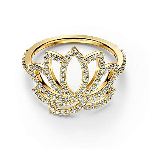 Swarovski Symbolic Lotus Ring 5 UK White