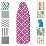Mabel Home Ironing Board Padded Cover, 100% Cotton (201, 14' x 43')