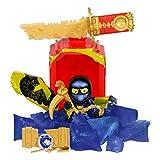 Treasure X - Figuras Ninja serie 6 - Figuras acción, 16 ninja para coleccionar, modelo surtido (Famosa 700016680)
