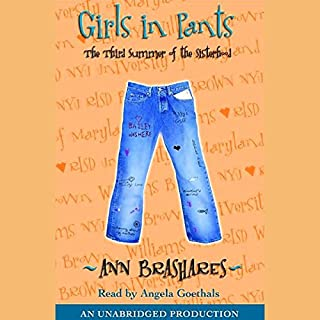 Girls in Pants audiobook cover art