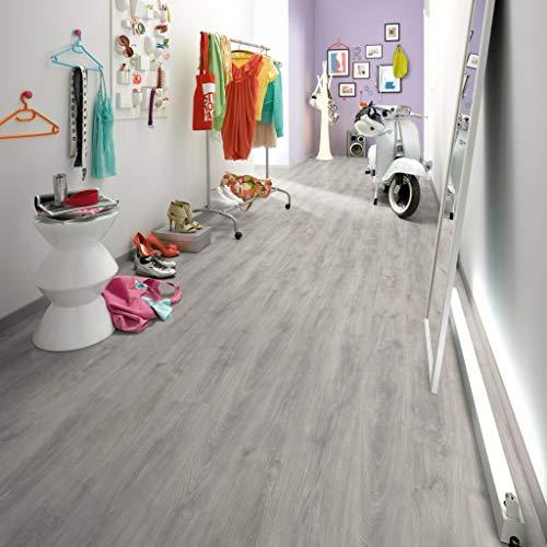Egger Laminat Dielen 68,25 m² 6 mm Nordkap Eiche Grau