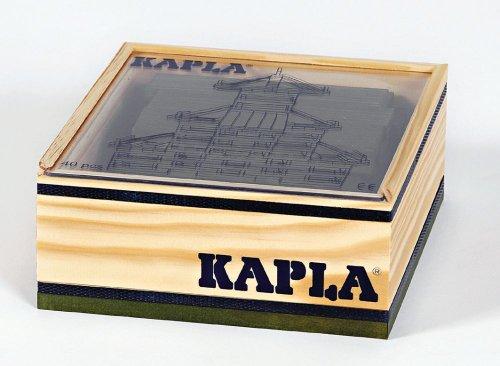 Carré 40 planchettes Vert - Kapla