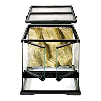 ideal reptile or amphibian housing designed by European herpetologists specially designed lock will prevent escape and the doors can be opened separately full screen top ventilation allows UVB and infrared penetration, and is completely removable for...