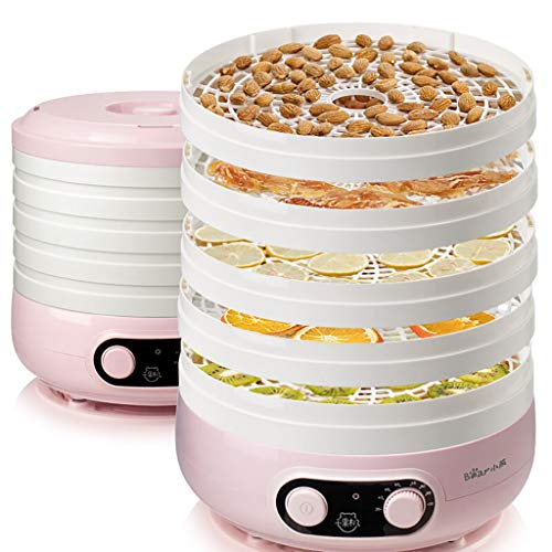Lowest Prices! Food Dehydrator, Electronic Digital Food Dehydrator For Jerky, Fruits, Vegetables And...