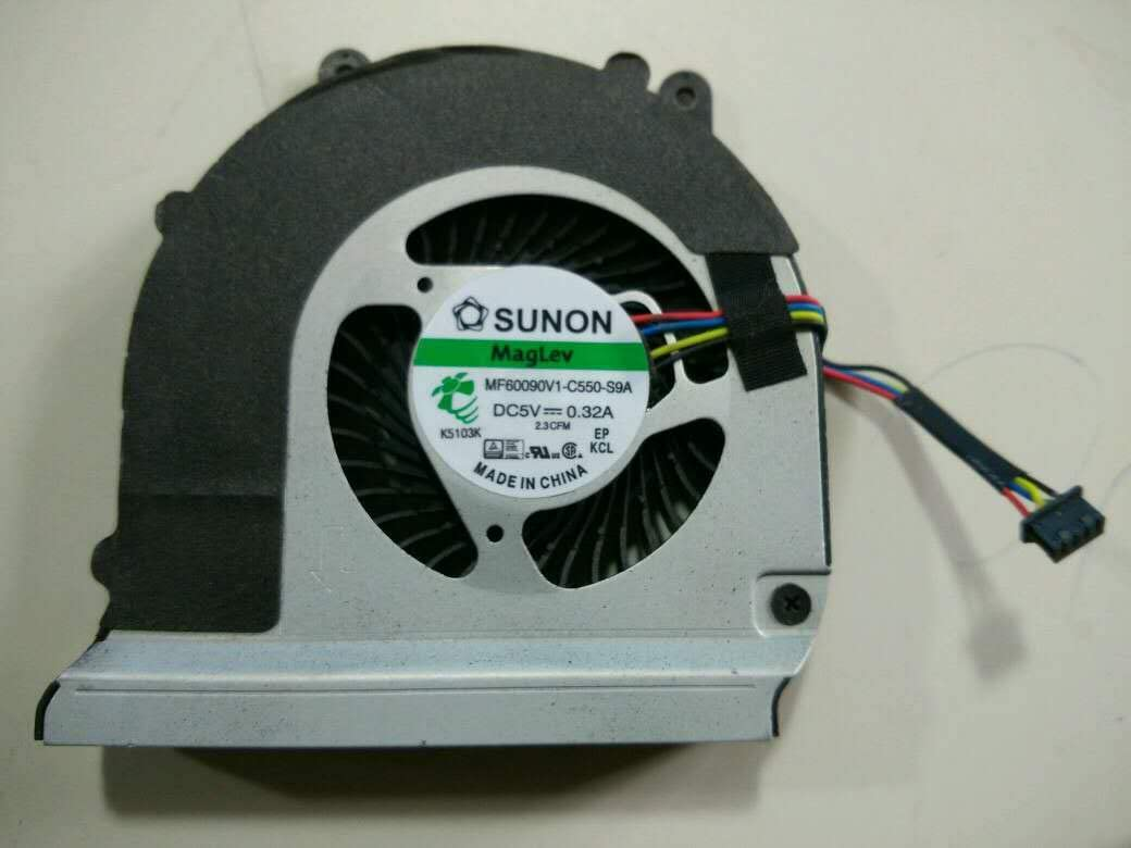 Z-one Fan Replacement for DELL Latitude E6440 Series CPU Cooling Fan, MF60090V1-C550-S9A 4-Wire
