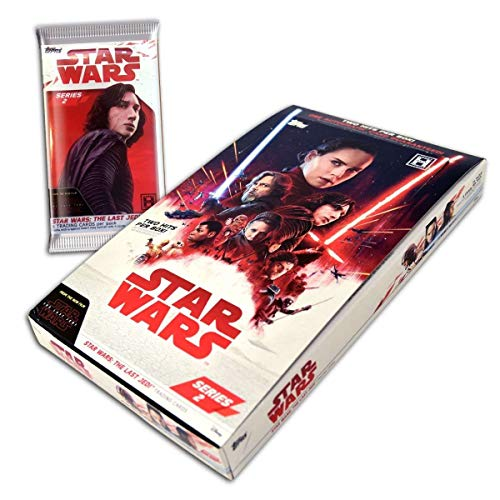 TOPPS 2018 Star Wars The Last Jedi (Episode 8) Series 2 Hobby Trading Card Box image