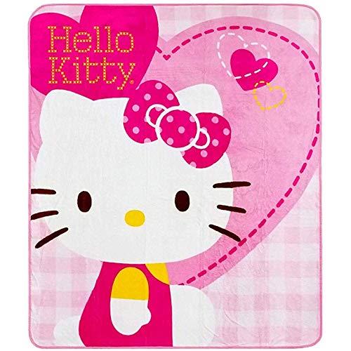 Utong Hello Kitty Blanket Hearts Nuevo 'Rachel