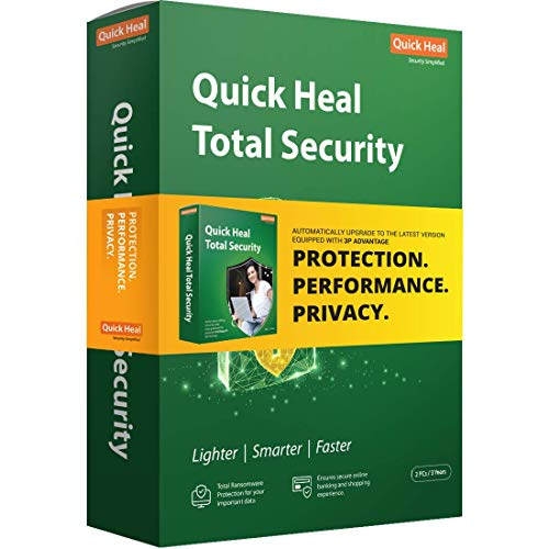 Quick Heal Total Security Latest Version - 2 PCs, 3 Years (DVD) 3