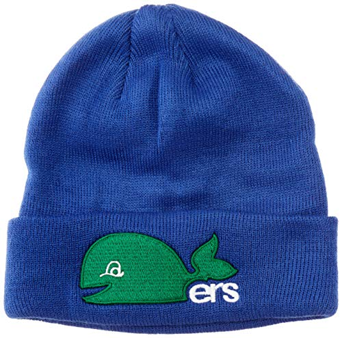 OTS NHL Hartford Whalers Youth Raised Cuff Knit Cap, Vintage, Youth