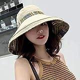 Sombrero De Pescador Sombrero De Pico De Algodón Y Lino De Doble Cara, Sombrero De Pescador, Cubierta De Olla para Mujer Sombrero Informal Caqui