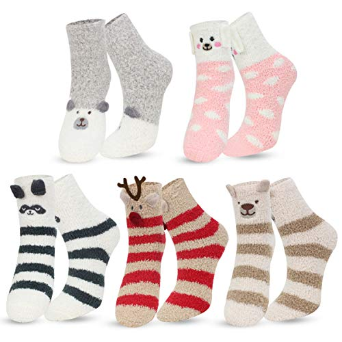 chenpaif 5 Pairs Kids Pure White Sock Baby Boy Girl Solid Breathable Cotton Sport Spring S