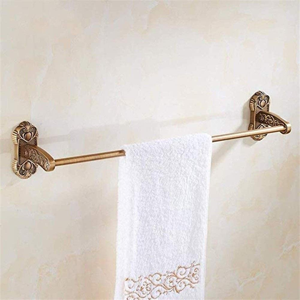 GYJWXM Towel Bars Wall-Mounted Retro Safety and trust Racks Rack Luxury Wall