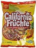 California Früchte – Fruchtige Lutschbonbons mit Fruchtsaftfüllung in verschiedenengeschmacksrichtungen wie