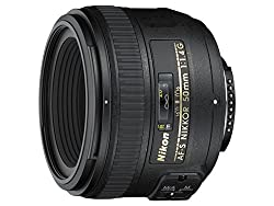 Standard 50mm wide aperture lens (equivalent to 35mm format: 75mm when used with a Nikon SLR in DX format) Maximum diaphragm opening equal to f/1.4 Advanced optical scheme minimises flare and chromatic aberration Silent Wave motor for quick and quiet...