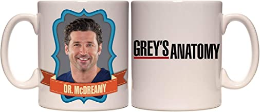Grey's Anatomy Dr. McDreamy Derek Shepherd Coffee Mug 11 Oz.