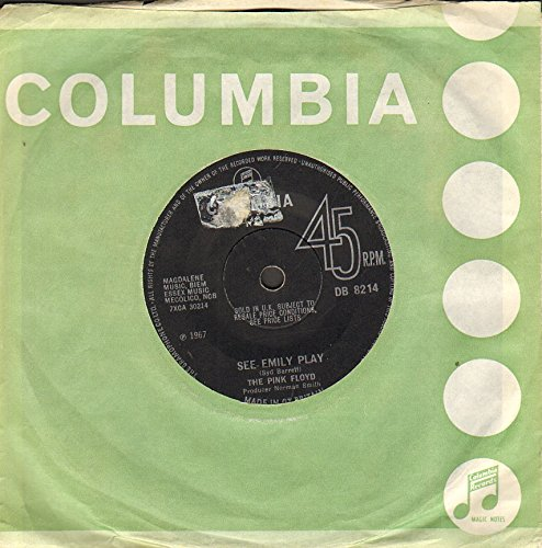 PINK FLOYD see emily play, first press Columbia sold in the UK, 7 inch