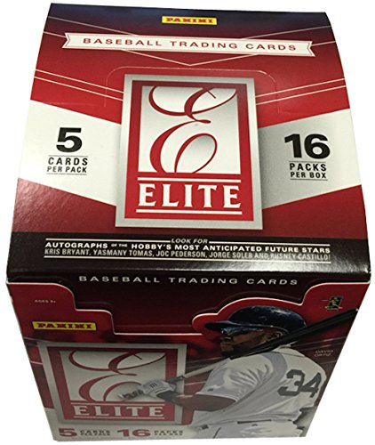 2015 Panini Elite Baseball HOBBY box (16 pk)