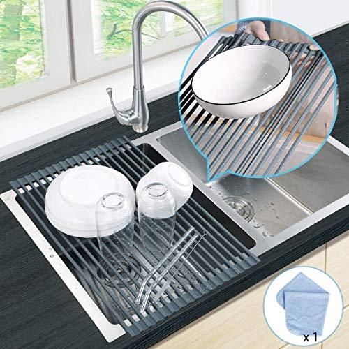 Ikea Dish Drainer 9 Glass Holders Plate Drying Rack Fork Spoon Organizer Flundra by Dish Racks