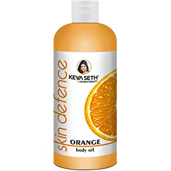 Keya Seth Aromatherapy, Device of Drop Skin Defence Orange Body Oil, Orange, 400 ml