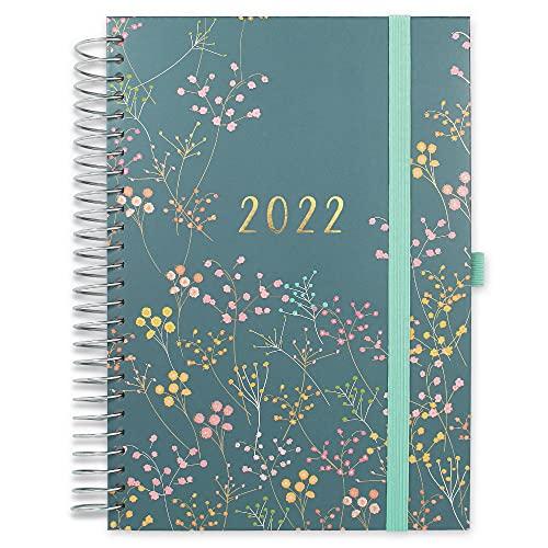 Boxclever Press Familienplaner Kalender 2022 A5. Familienplaner 2022 ab sofort nutzbar bis Dez '2022. Terminplaner 2022 mit 7 Spalten. Kalender 2022 Buchkalender für aktive Familien.