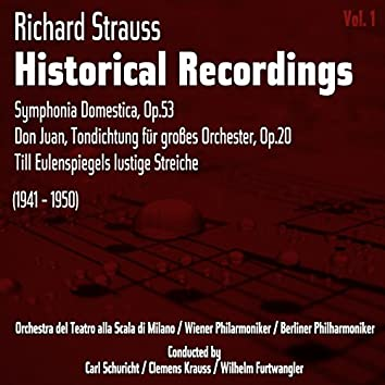 Richard Strauss: Historical Recordings, Volume 1 (1941 - 1950)