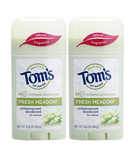 Tom's of Maine Antiperspirant Deodorant for Women, Fresh Meadow, 2.25 oz. 2-Pack