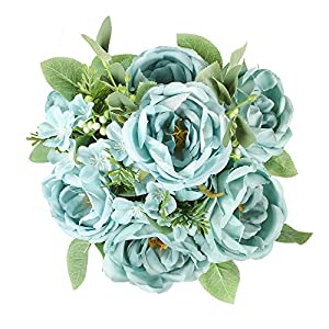 Floweroyal Artificial Flowers Bouquet 11 Branches 1 Pack