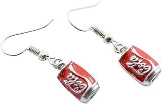 XINGSd razionale Creativo Semplice Coca-Cola Bottiglia Orecchini Personalizzati Carino Mano fare Orecchini Per Donna Gioie...