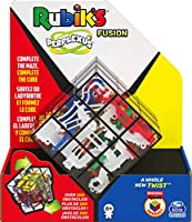 Rubik's Perplexus Fusion 3 x 3, Challenging Puzzle Maze Skill Game, for Adults and Kids Ages 8 and up