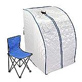 FlowerW Infrarot Sauna Tragbare Heizung 1000W Sauna Box Indoor Folding Sauna Dampfkabine Personal Spa Trockene Saunaheizung