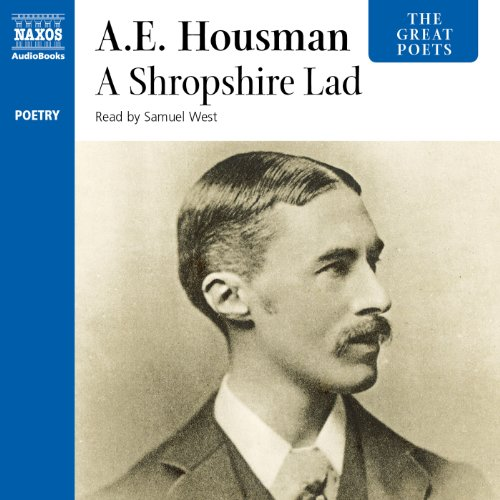 A Shropshire Lad audiobook cover art