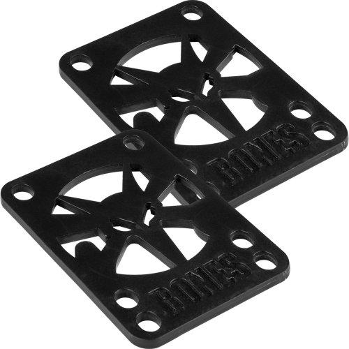 Bones Wheels Skateboard Riser Pad, 2-Pack