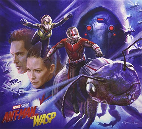 MARVELS ANT-MAN AND WASP ART OF MOVIE HC (Marvel's Ant-Man and the Wasp: the Art of the Movie)