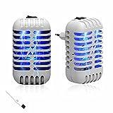 Binen mückenschutz Plug-in Elektrischer Mückenvernichter Steckdose,mit UV-Licht LED Insektenfalle Mückenlampe Schutz vor Elektrischem Schlag Tragbare Mückenfalle Fliegen Für Innen anti mücken lampe