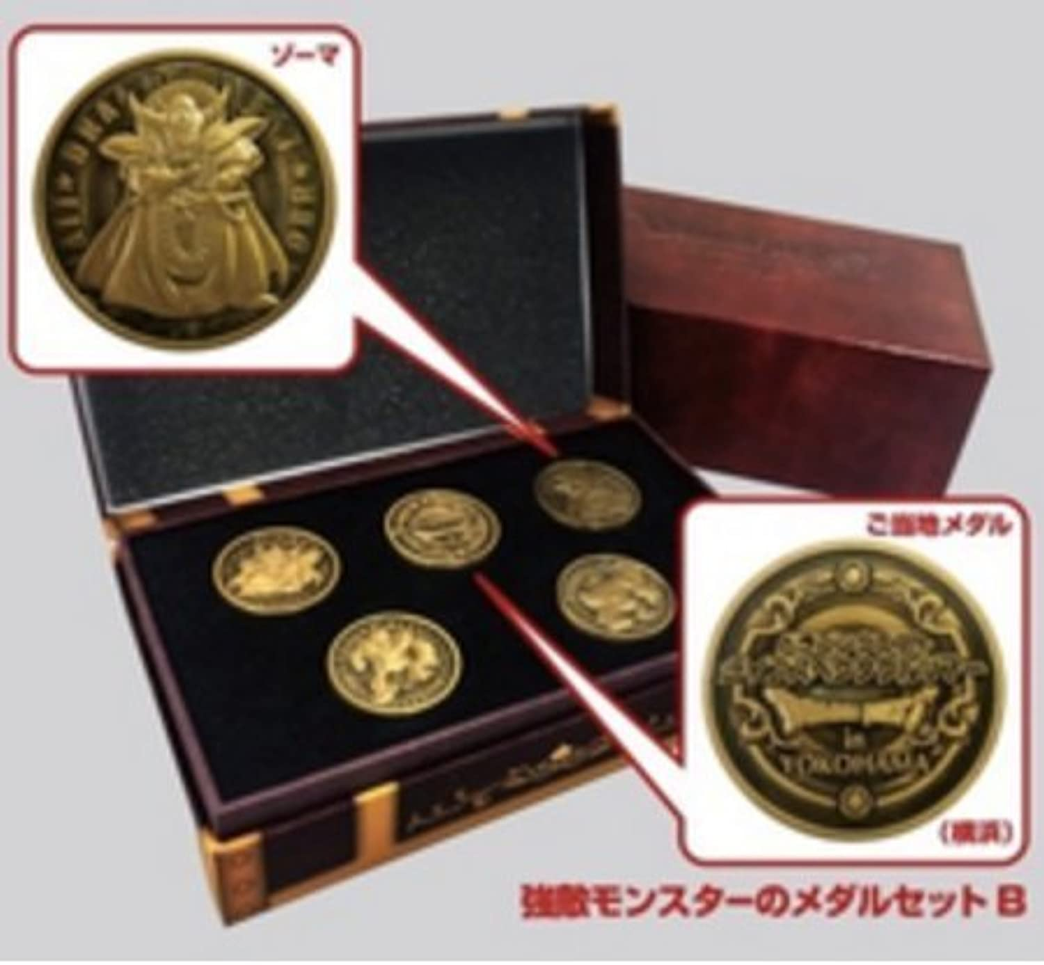 Dragon Quest Monsters Medals Live Spectacle Tour Coin Limited RARE Japanese