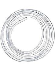Siliconen buis, 10 meter Luchtslang Pijp Helder Flexibel, Aquarium Vijver Slang, Brandstofslang, Olieslang, 4*6mm