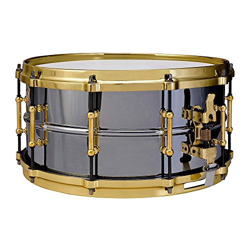 Ludwig Black Beauty LB417BT · Snare drum
