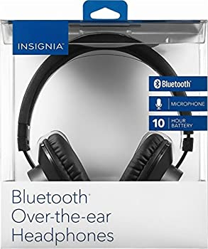 Insignia NS-CAHBTOE01 Bluetooth wireless Over-the-Ear Headphones - Black