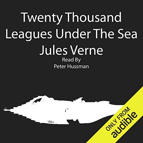 Twenty Thousand Leagues Under the Sea audiobook cover art