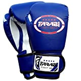 Kids Boxing Gloves 6-oz Blue Boxing Pad Training...