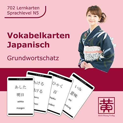 Vokabelkarten Japanisch: Grundwortschatz
