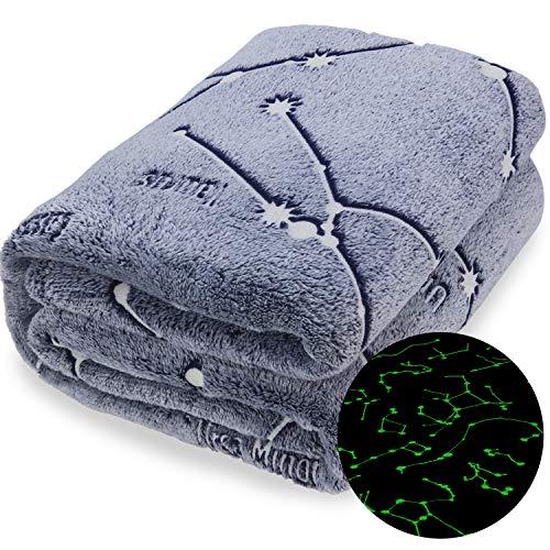 Product Image 8: Kanguru Glow in The Dark Constellation Blanket, Christmas Thanksgiving Blanket Gifts for Birthday Kids Women Girls Boy Best Friend