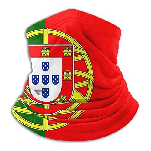 Bandana Neck Gaiter Flag Of Portugal Cycling Balaclava Face Scarf Mask For Man Women