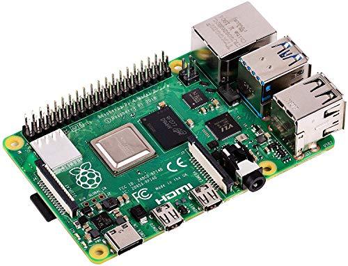Vilros Raspberry Pi 4 con adaptadores USB-C y micro HDMI guía de inicio rápido E-Book (4 GB)
