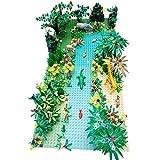 12che Accessori Set Scenografia Giungla Set Foresta pluviale per Lego