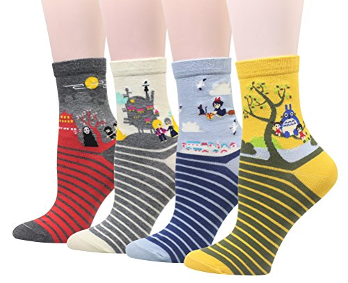 Cansok - Calcetines - para mujer multicolor Halloween Themed Talla única