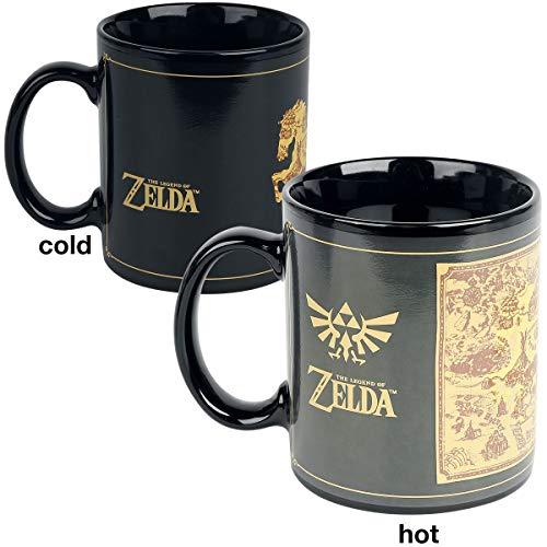 The Legend of Zelda SCMG24878 Mug Thermo-reactif 315ml / 11oz (Map)