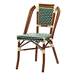 Chaise bistrot DAVE en polyrotin
