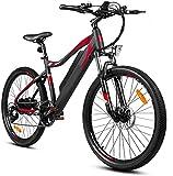 Bicicleta Eléctrica 26 pulgadas de montaña Bicicleta eléctrica 350W Bicicleta eléctrica urbana para adultos plegables de la bicicleta eléctrica ASSISTA LLANDO CONJUNTO CON LOS TRANSULTOS DE ENGRANSAMI