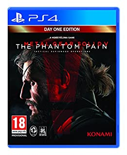 Metal Gear Solid V: The Phantom Pain - Day 1 Edition (PS4) (B00D781HS6) | Amazon price tracker / tracking, Amazon price history charts, Amazon price watches, Amazon price drop alerts